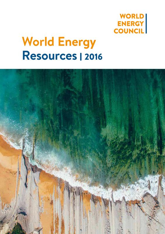 World Energy Resources Summary 2016