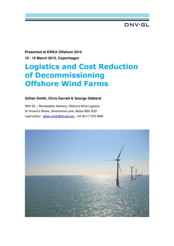 Logistics and Cost Reduction of Decommissioning Offshore Wind Farms-EWEA OW2015.pdf