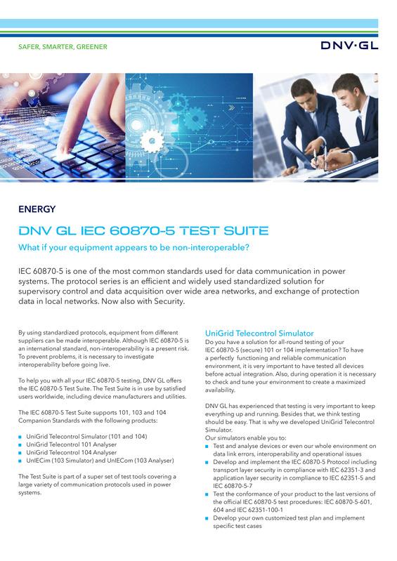 IEC 60870-5 test suite