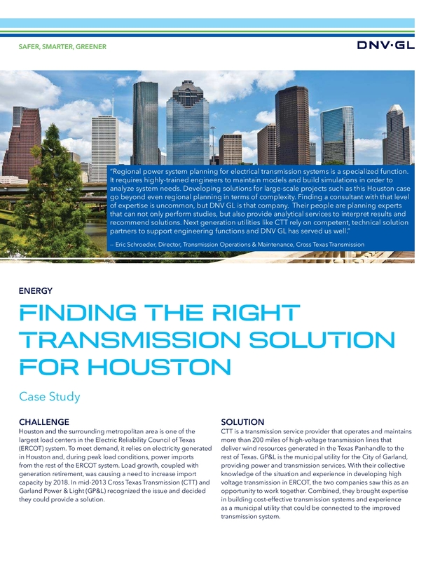 Finding the Right Transmission Solution for Houston