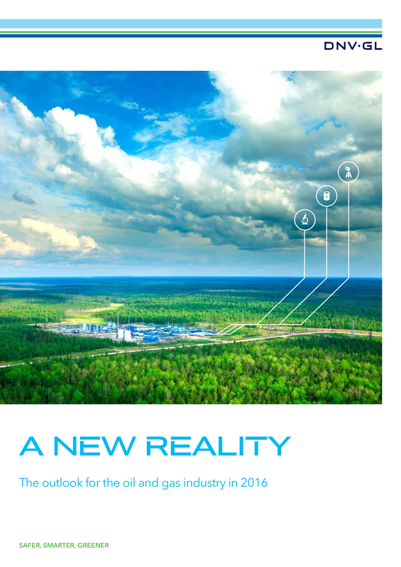 A New Reality _ the outlook for the oil and gas industry in 2016.pdf