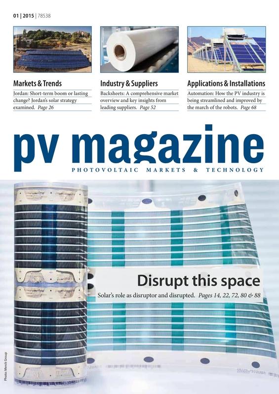 PV magazine 01-2015 New Finance models primed for Southeast Asia
