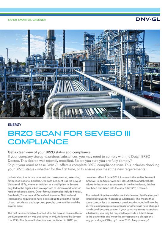 BRZO scan for Seveso III compliance