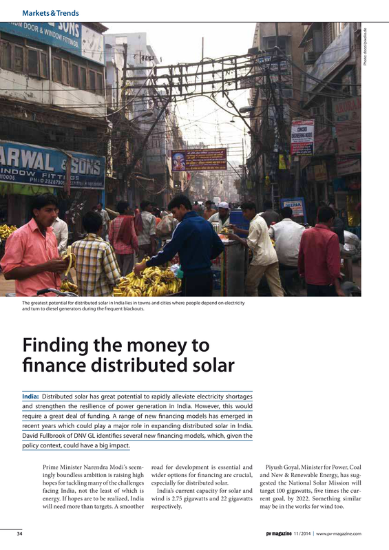 PV magazine 11-2014 Finding the money to finance distributed solar.pdf