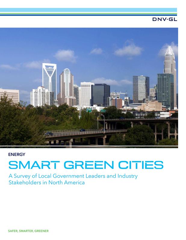 Smart Green Cities - US Survey Report 2015