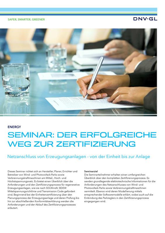 Seminar: Der erfolgreiche Weg zur Zertifizierung