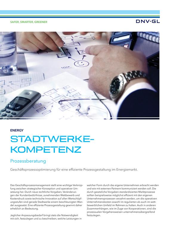Stadtwerkekompetenz - Prozessberatung