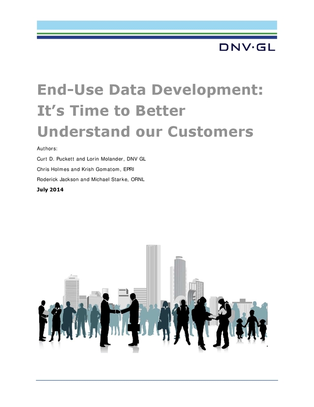 End-use data development: It's time to better understand our customers