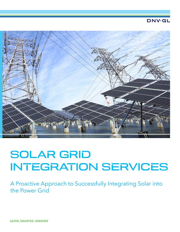 Solar grid integration services