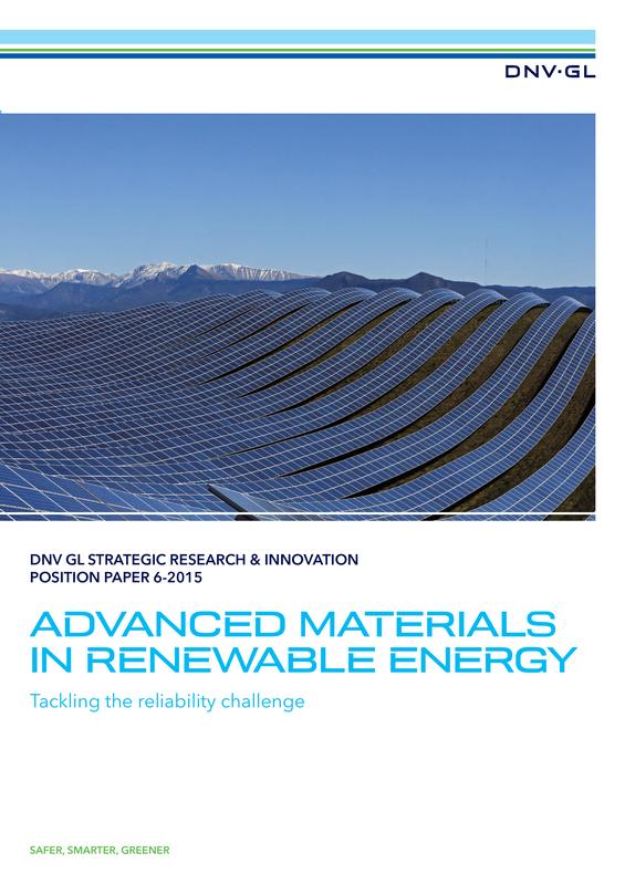 Advanced Materials in Renewable Energy