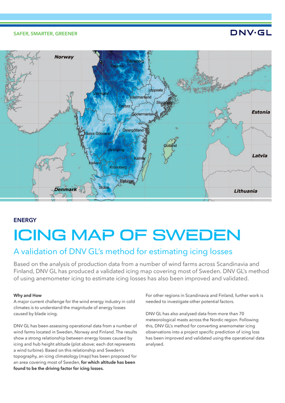 DNV GL Icing map of Sweden-no bleed