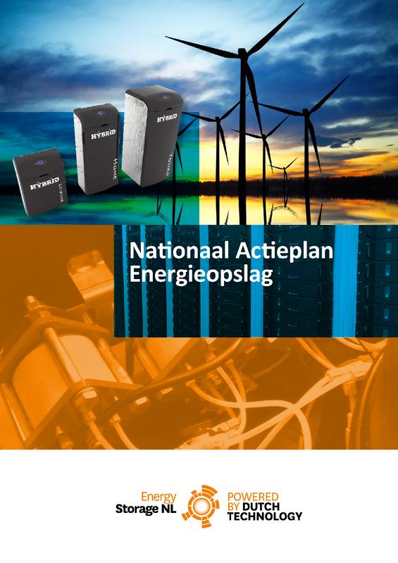 Nationaal Actieplan Energieopslag