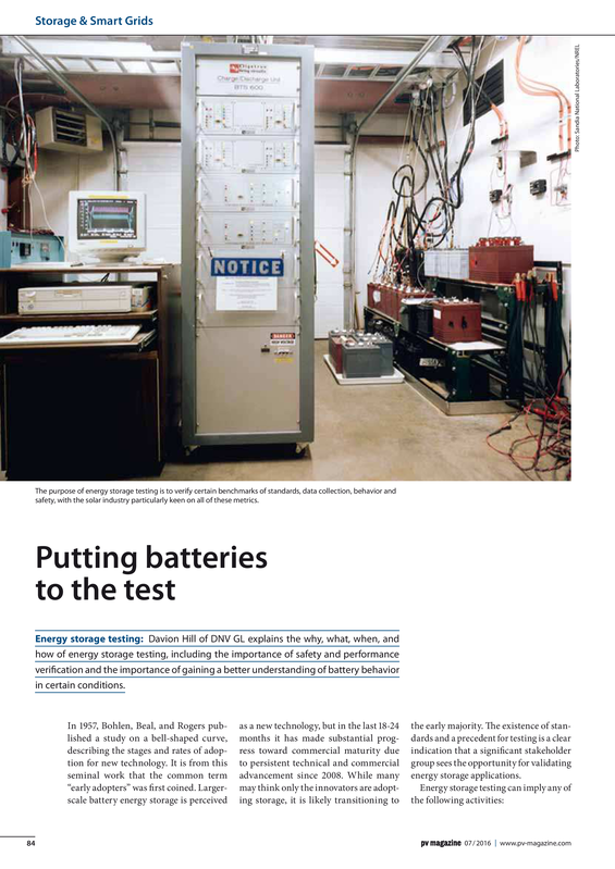 PV magazine 07-2016 Putting batteries to the test.pdf