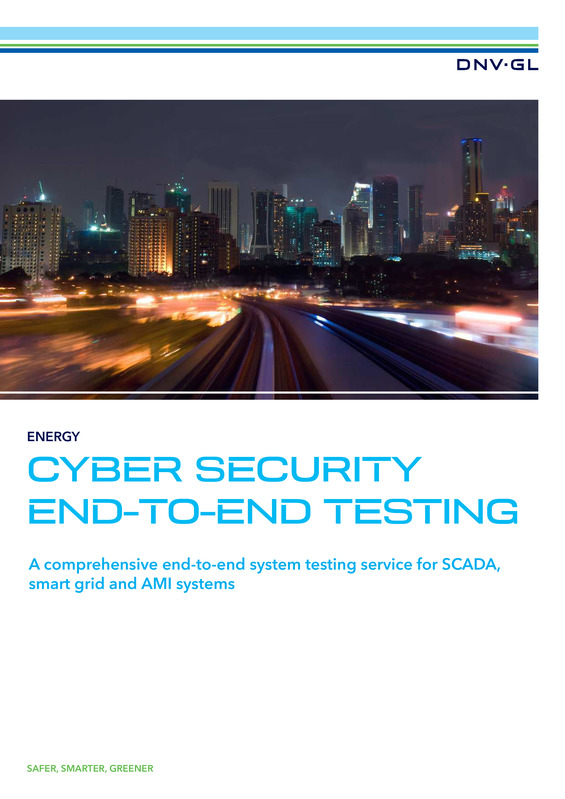 Cyber security end-to-end testing