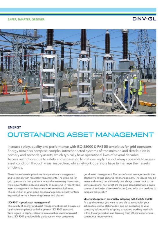 Outstanding asset management