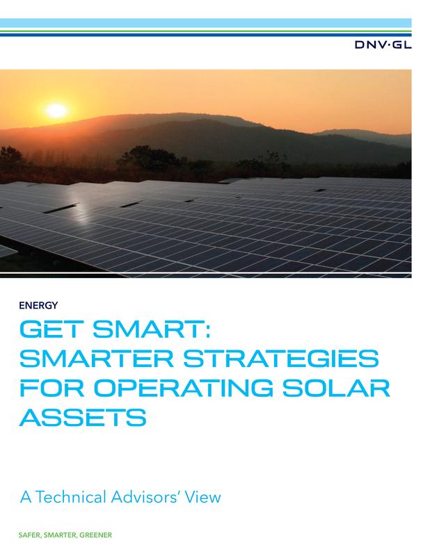 Get smart - Smarter strategies for operating solar assets