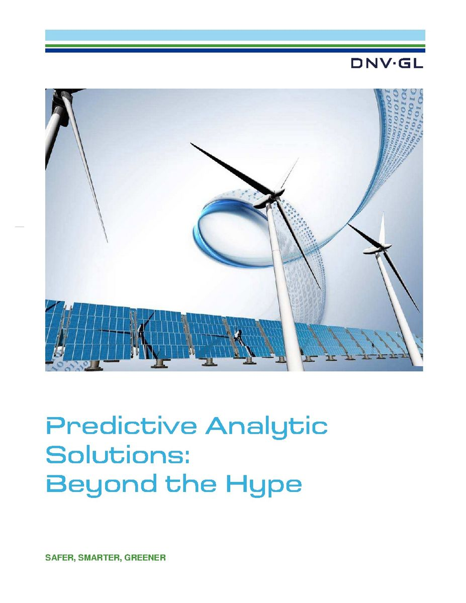 Predictive Analytic Solutions: Beyond the Hype