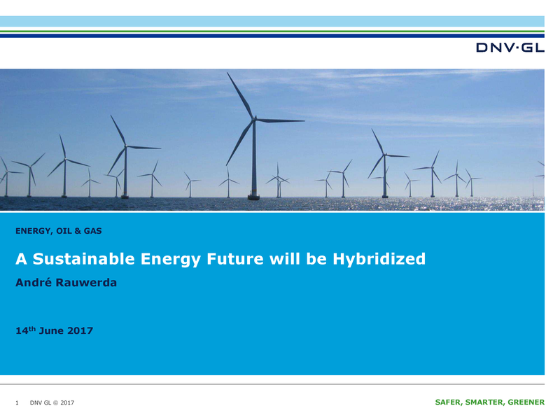 A sustainable future will be hybridized