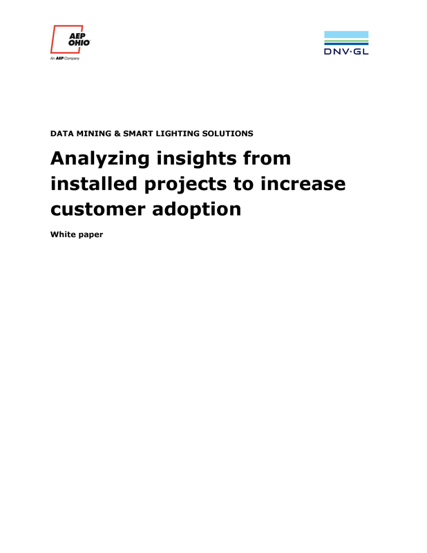 Data mining and smart lighting solutions - white paper