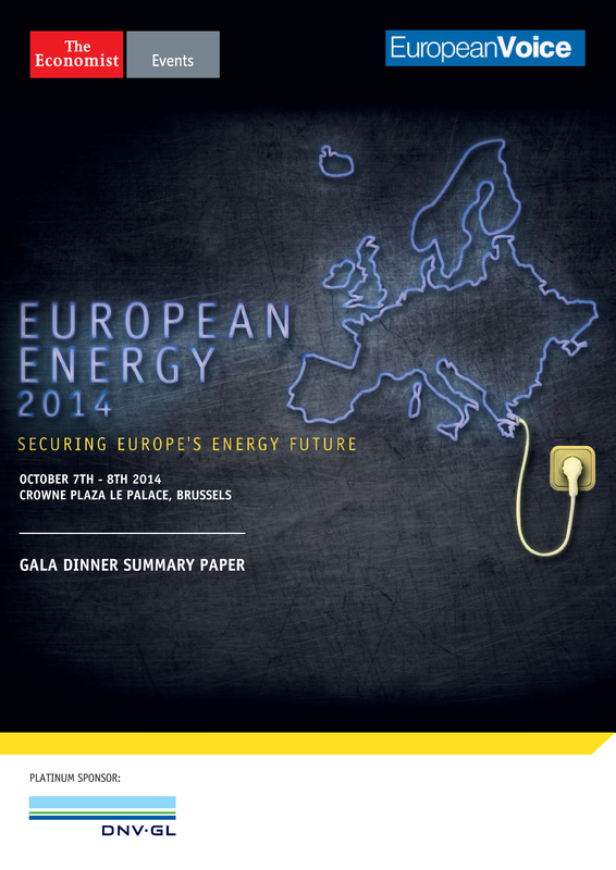 The Economist - European Energy 2014 summary paper