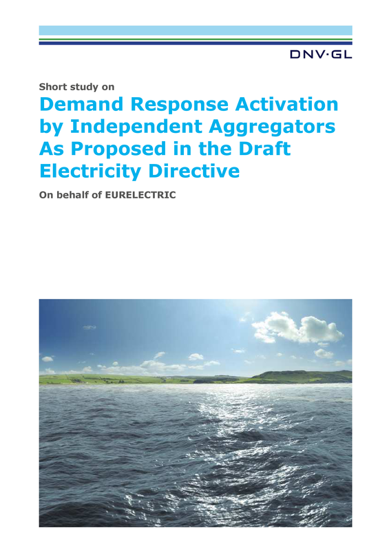 Arrangements for demand response aggregation