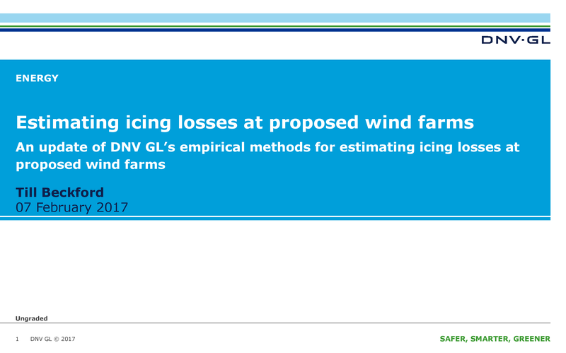 Estimating icing losses at proposed wind farms