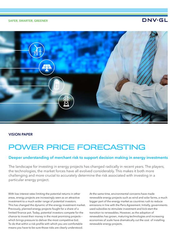 Power Price Forecasting