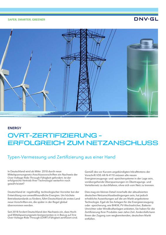 OVRT-Zertifizierung - flyer