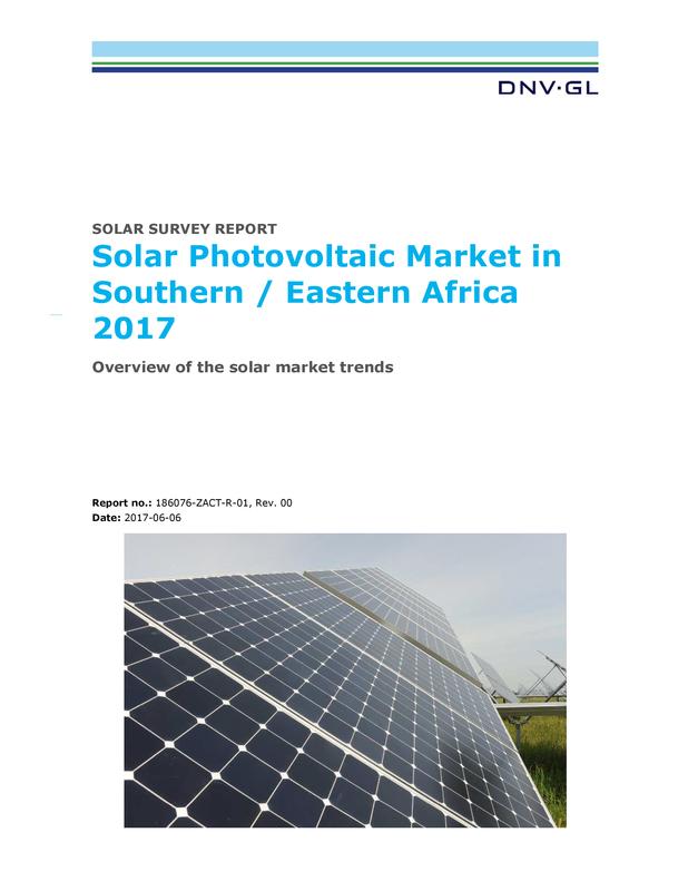Africa Solar Survey Report 2017