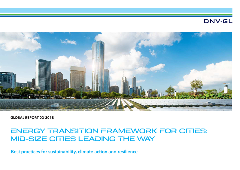 Energy Transition Framework for cities: mid-size cities leading the way
