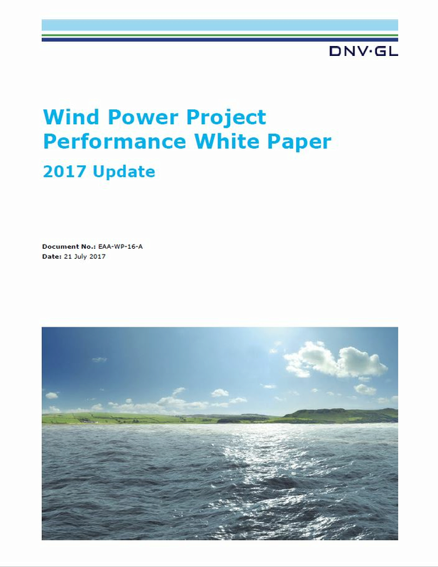 DNV GL Wind Project Performance