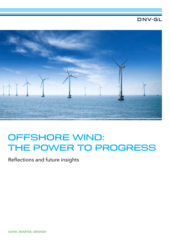 Offshore Wind - The Power to Progress report