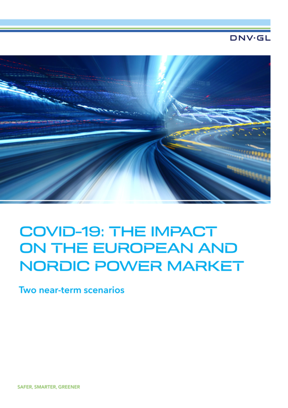 COVID-19: the impact on the European and Nordic power market