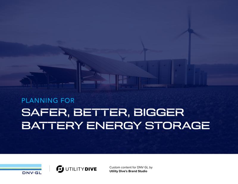 Planning for Safer, Better, Bigger Battery Energy Storage