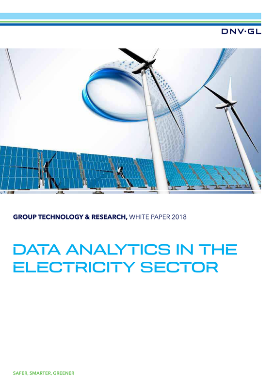 Data analytics in the electricity sector