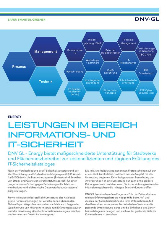 Leistungen Informations- und IT-Sicherheit