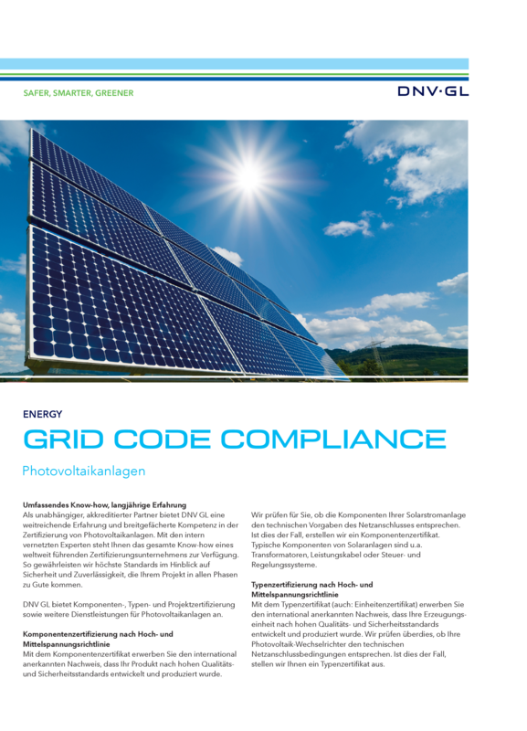 Grid Code Compliance