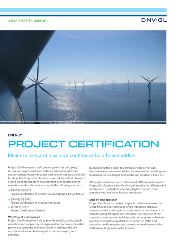 Project Certification