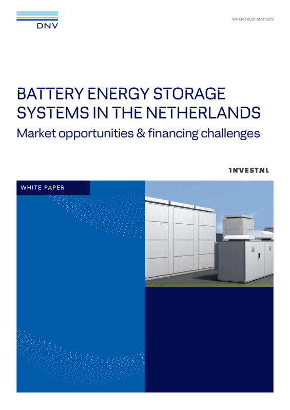 Battery Energy Storage Systems in the Netherlands