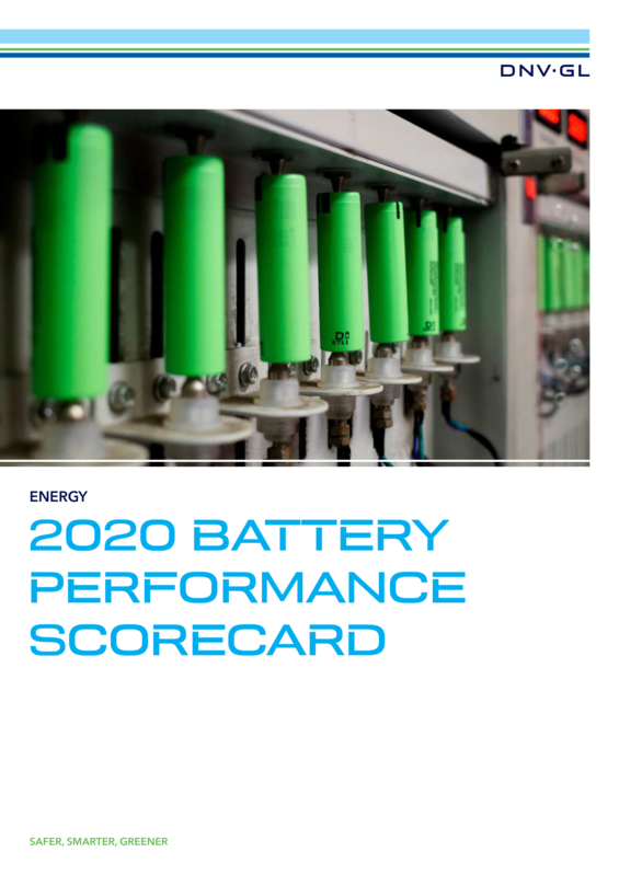 2020 Battery Performance Scorecard - Pages  View A4