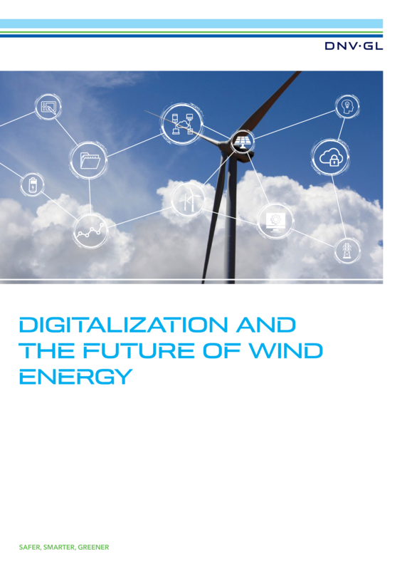 Digitalization and the future of wind energy