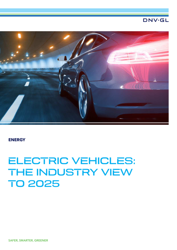 Electric Vehicles - the industry view to 2025