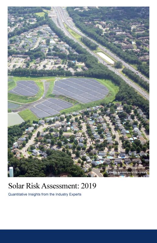 Solar Risk Assessment 2019