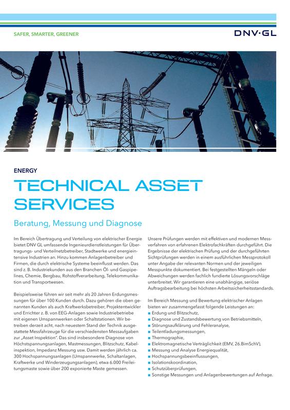 Technical Asset Services