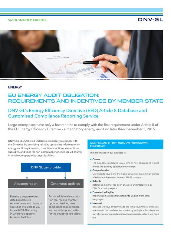 EU Energy Audit obligations