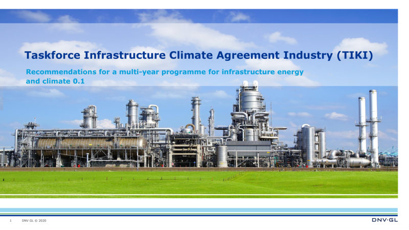 Multi-year programme for energy and climate infrastructure
