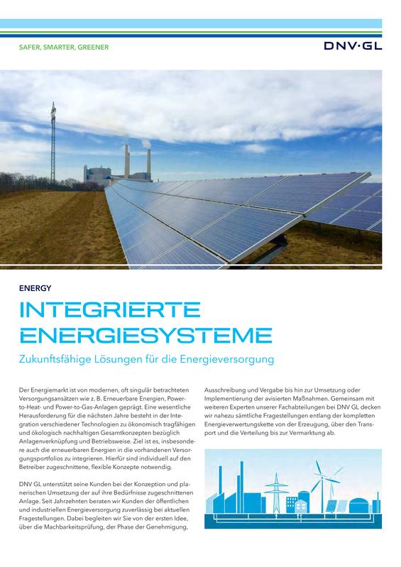 Integrierte Energiesysteme