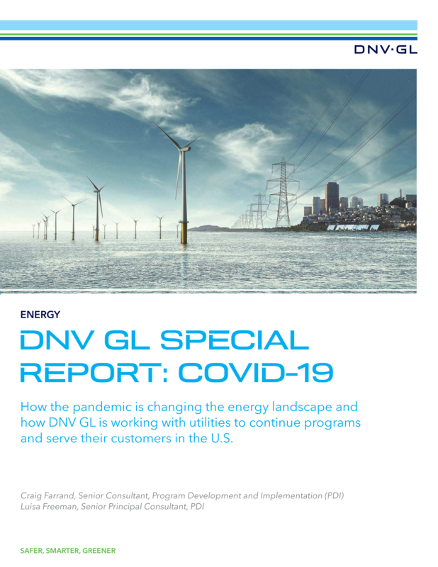 DNV GL Special Report - COVID 19