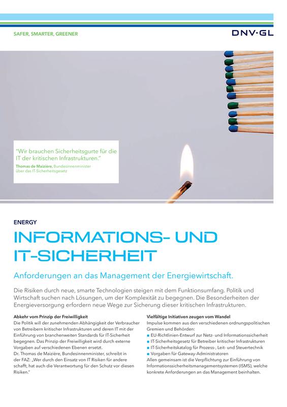 Informations- und IT-Sicherheit