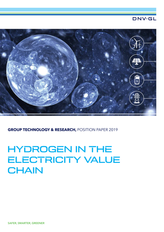 Hydrogen in the electricity value chain